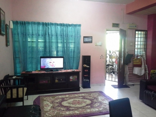 house with a porch house for in taman prima saujana terrace in kajang 18556